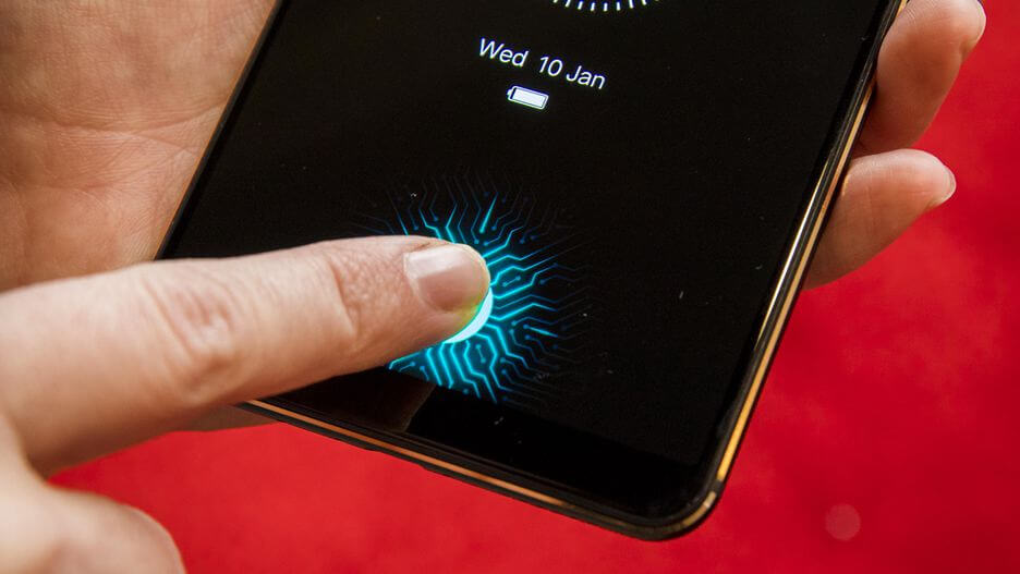 The world's first phone with an in-display fingerprint sensor is here