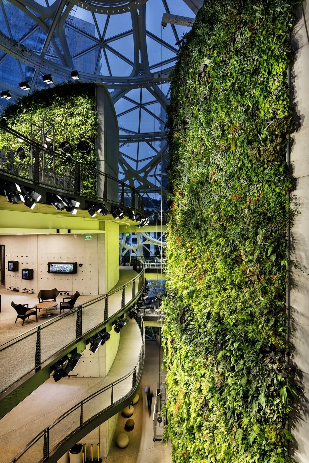 Amazon Opens Rainforest Dome Offices In Seattle Techspot