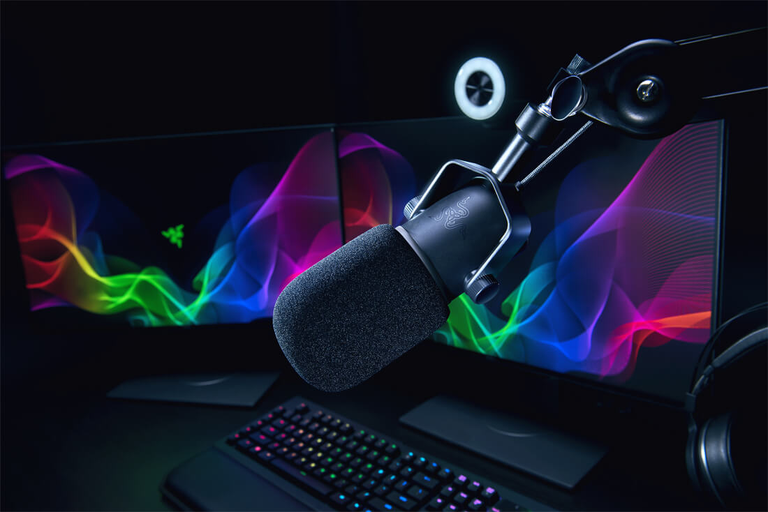 Razer releases a pro-grade USB microphone for game streamers