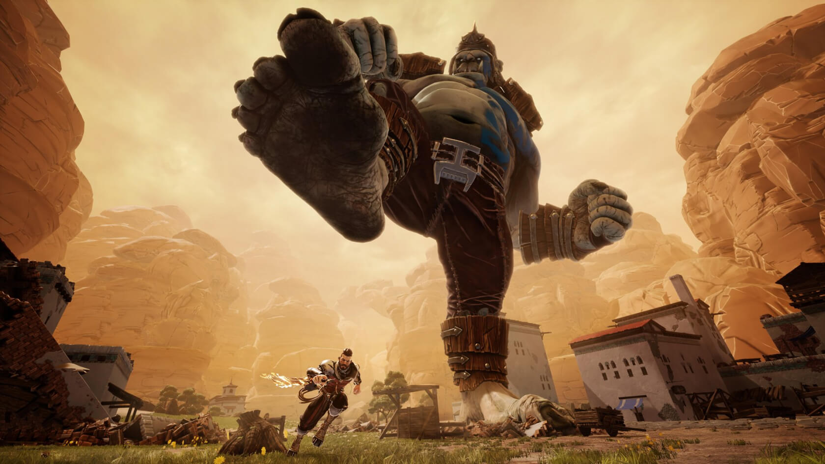 Extinction Release Date Confirmed, Climbing Giant Ogres This April