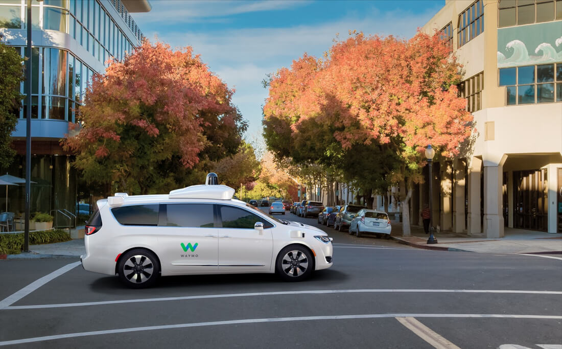 Waymo orders thousands of additional Chrysler Pacifica minivans for autonomous taxi service