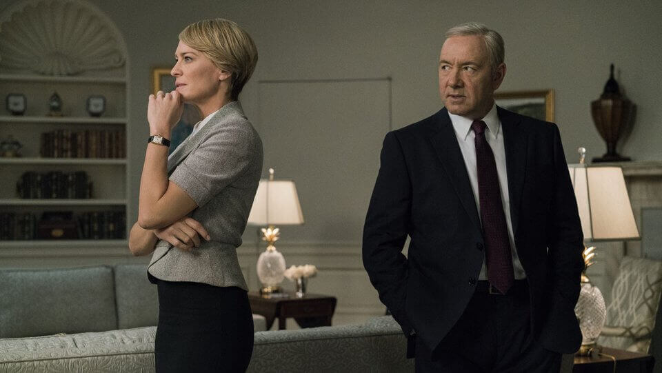 House of Cards production has resumed without Kevin Spacey