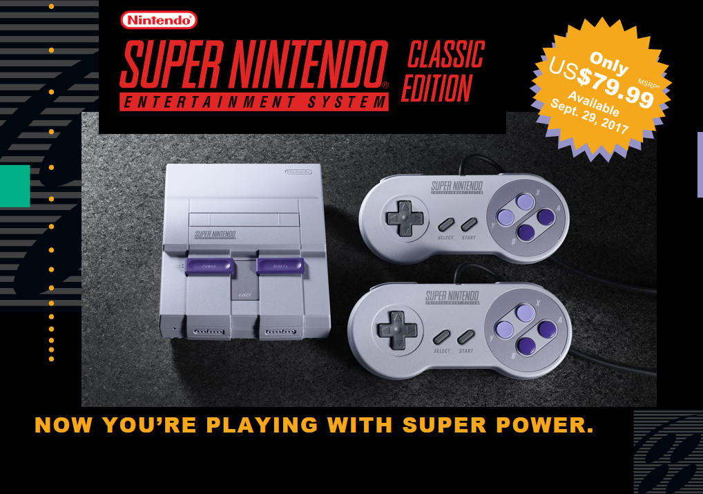 SNES Classic sales continue to climb, now surpassed 4 million units