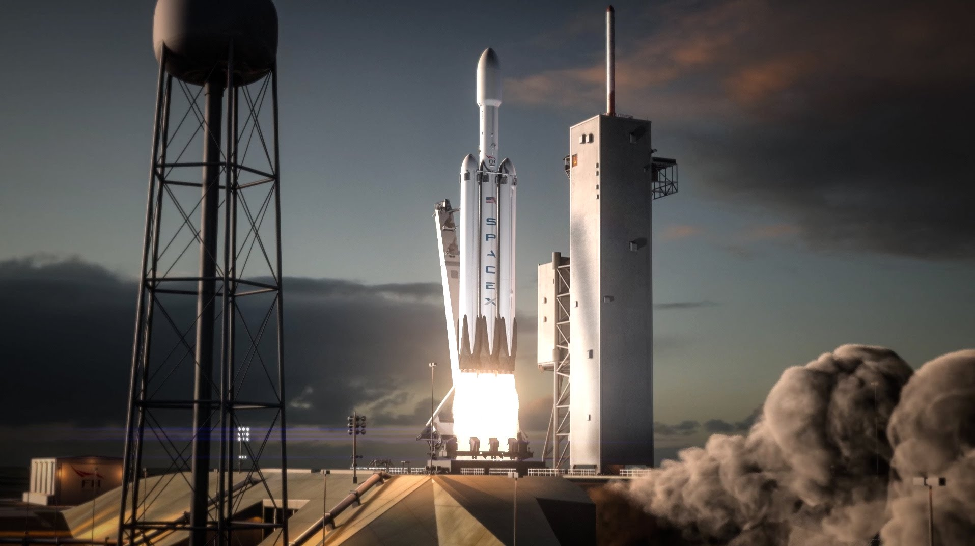 SpaceX's 64-ton Falcon Heavy rocket is ready for launch