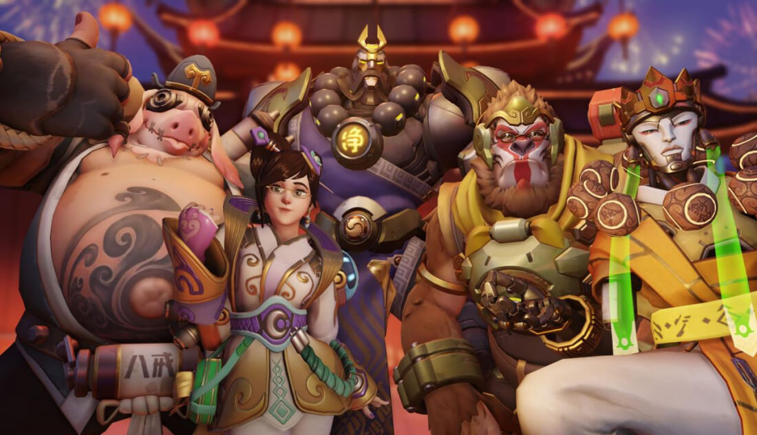 Overwatch's upcoming Year of the Dog event will add a new map, Capture the Flag and several new skins