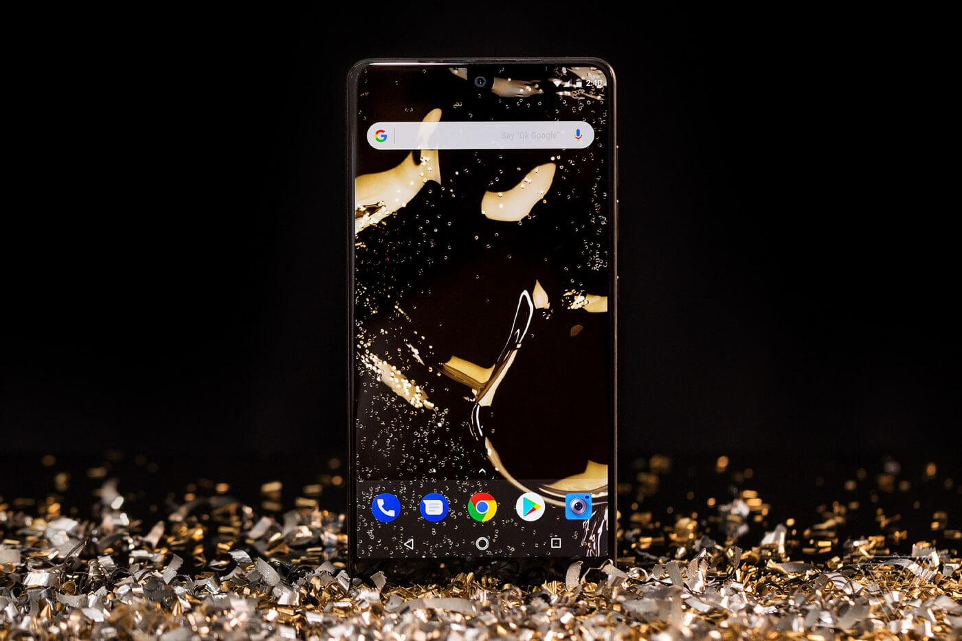 Only 88000 units of the Essential Phone were sold in 2017