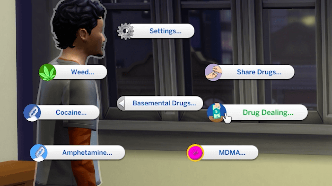 Sims 4 modder makes $6,000 per month peddling digital drugs