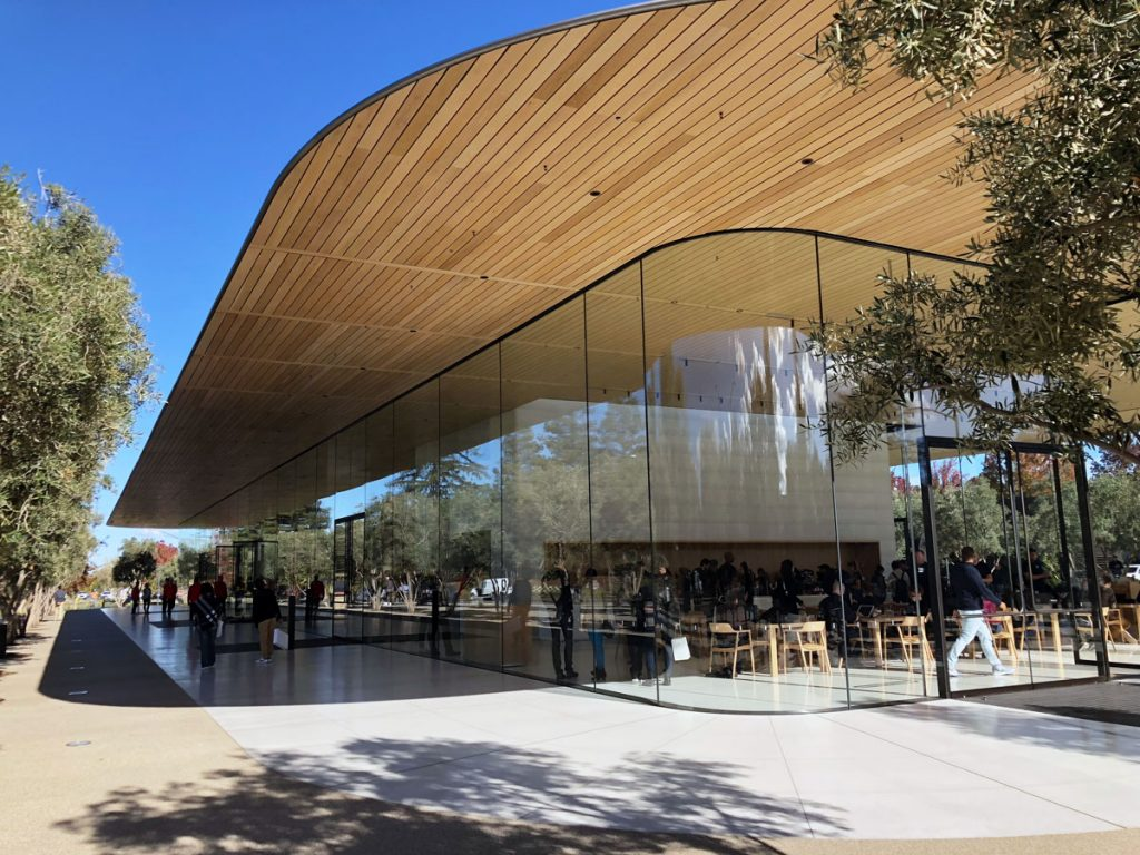 Apple Park Employees Keep Smacking Into The Building S