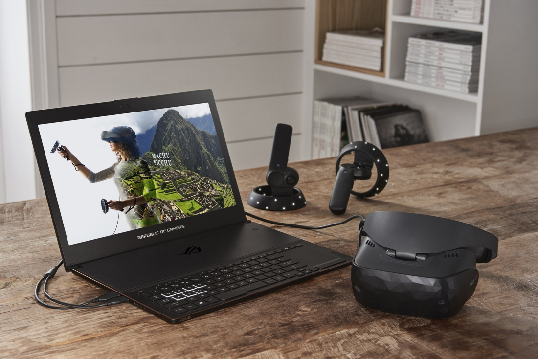 fdc1cb7b9af Asus launches Mixed Reality headset with motion controllers for Windows 10
