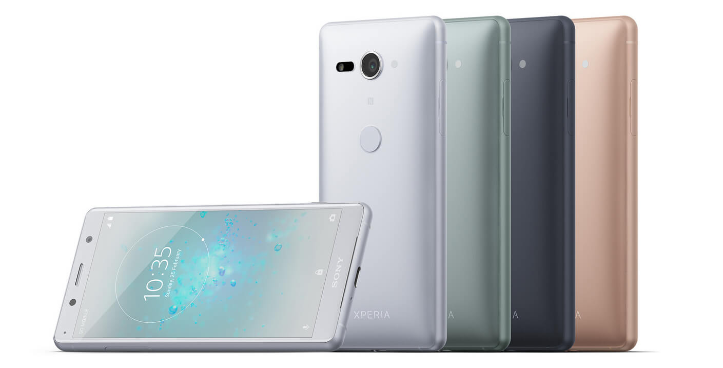 Sony's curvy new Xperia XZ2 smartphones feature smaller bezels and more power