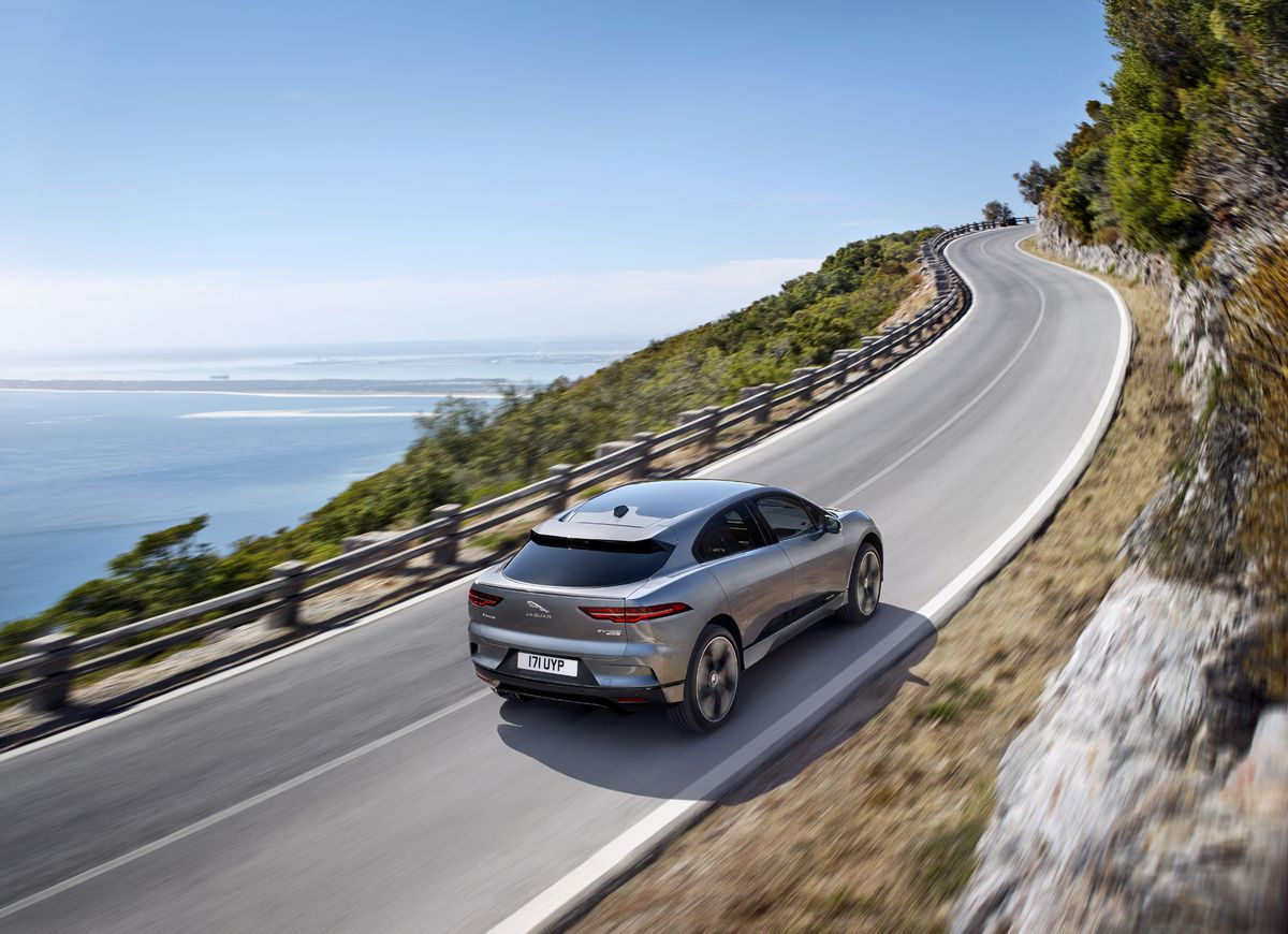 Jaguar's all-electric I-Pace SUV will battle Tesla's Model X later this year