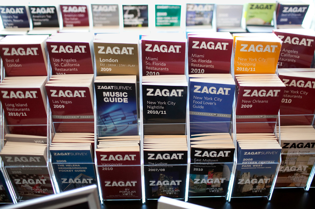 Zagat on menu for restaurant review site Infatuation