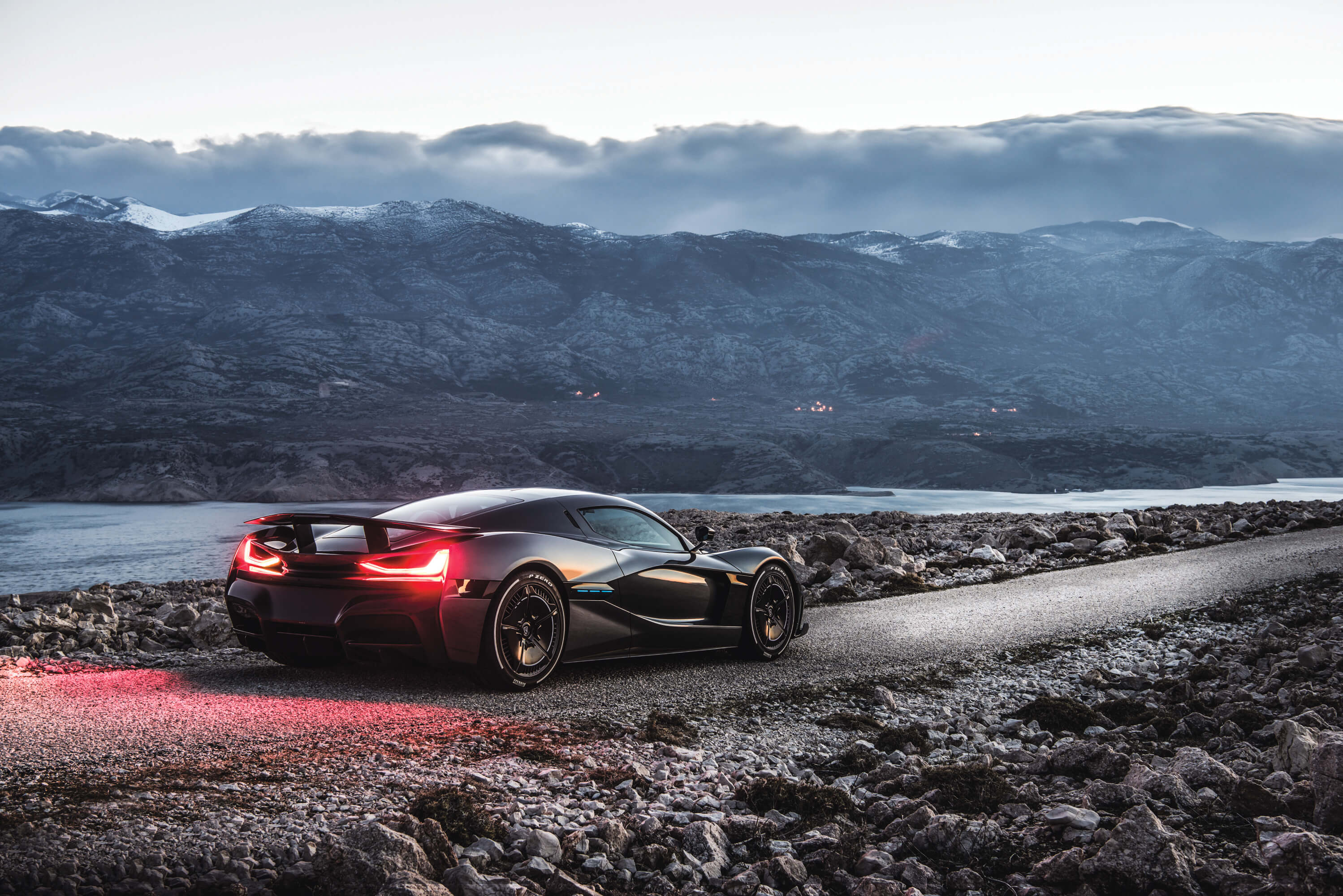 Rimac's new electric car does 0-60 in 1.85 seconds, packs 1,914 horsepower