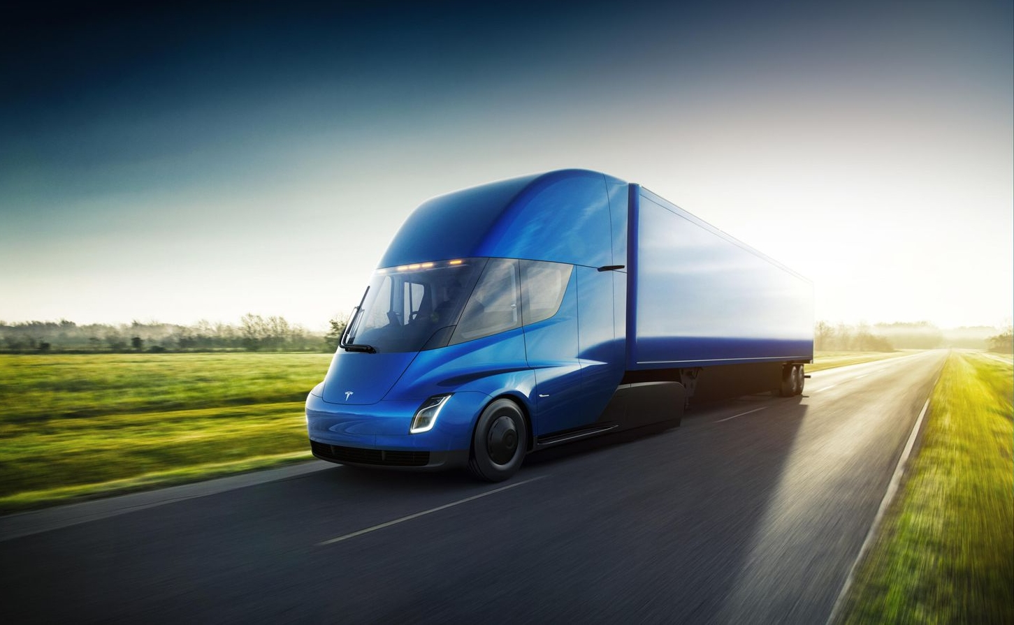 Tesla Semi goes on its first production cargo trip, transporting battery packs