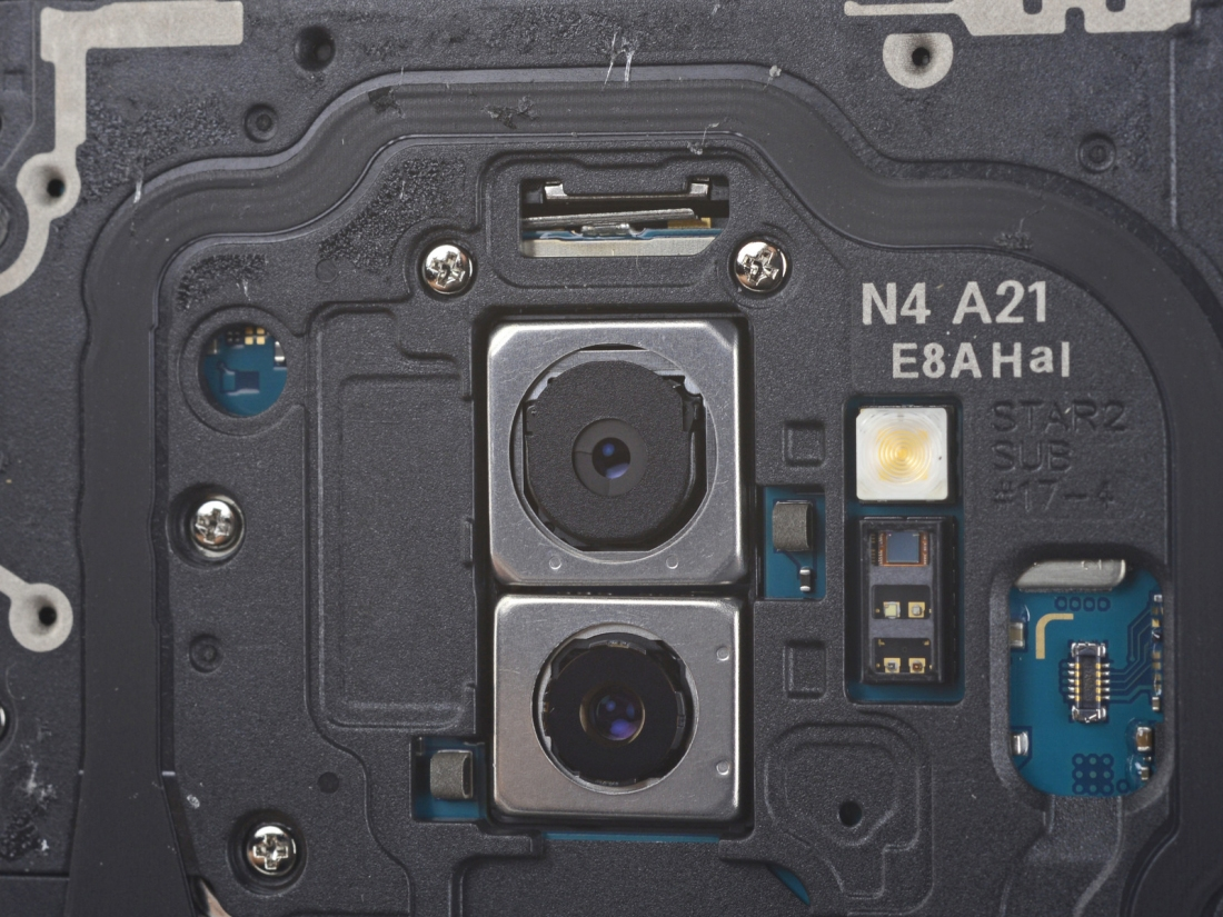 Samsung Galaxy S9's dual aperture camera spied in iFixit ...