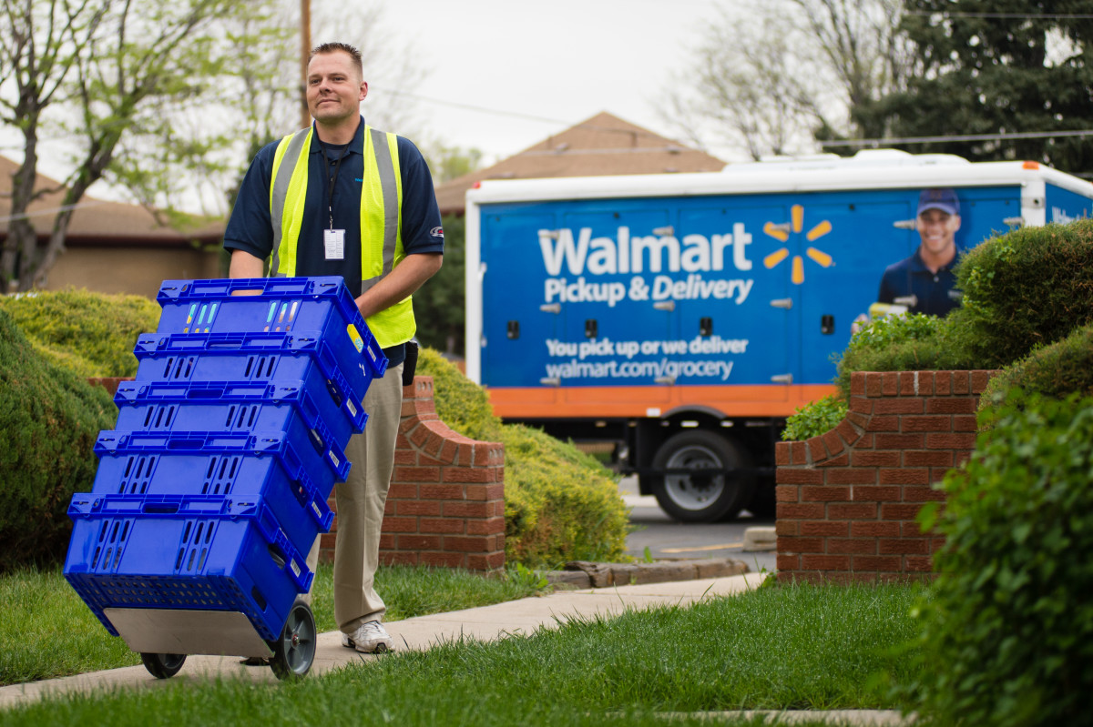 In Latest Amazon Jab, Walmart Expands Same-Day Grocery Delivery