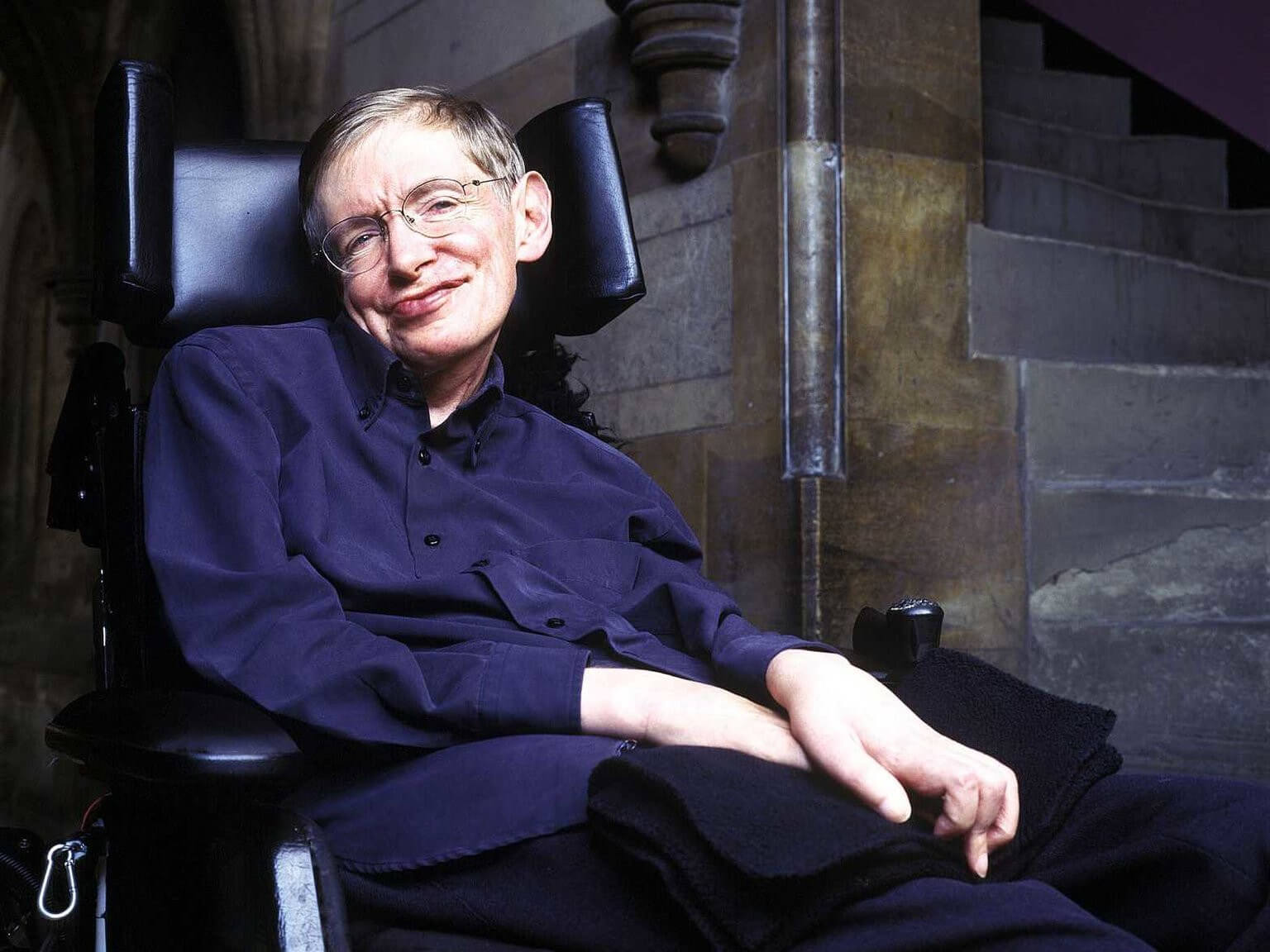 A brief history of 'his' time — Stephen Hawking