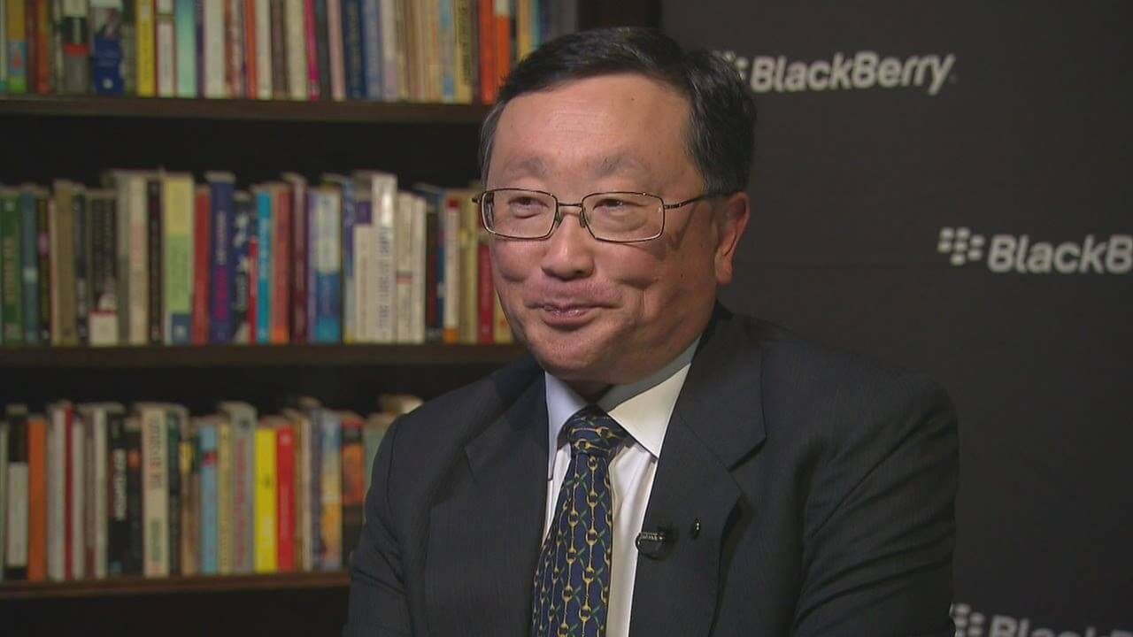 BlackBerry and John Chen agree to five-year contract extension