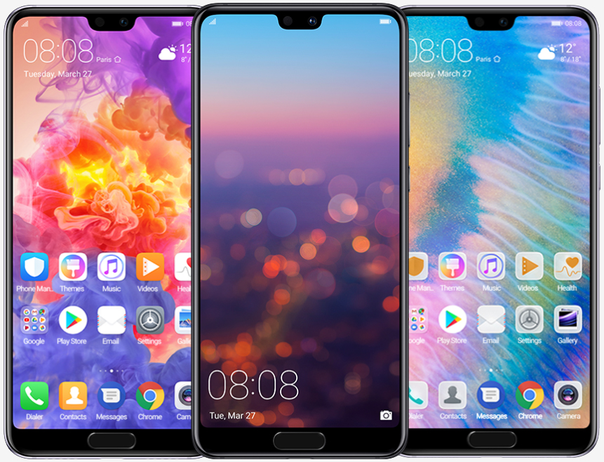 Huawei launches stunning triple-camera P20 Pro smartphone