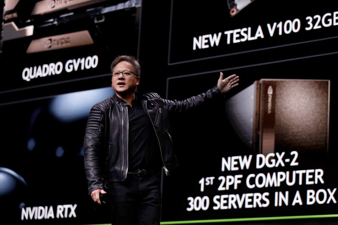 Nvidia unveils 350lb 'DGX-2' supercomputer with a $399,000 price tag