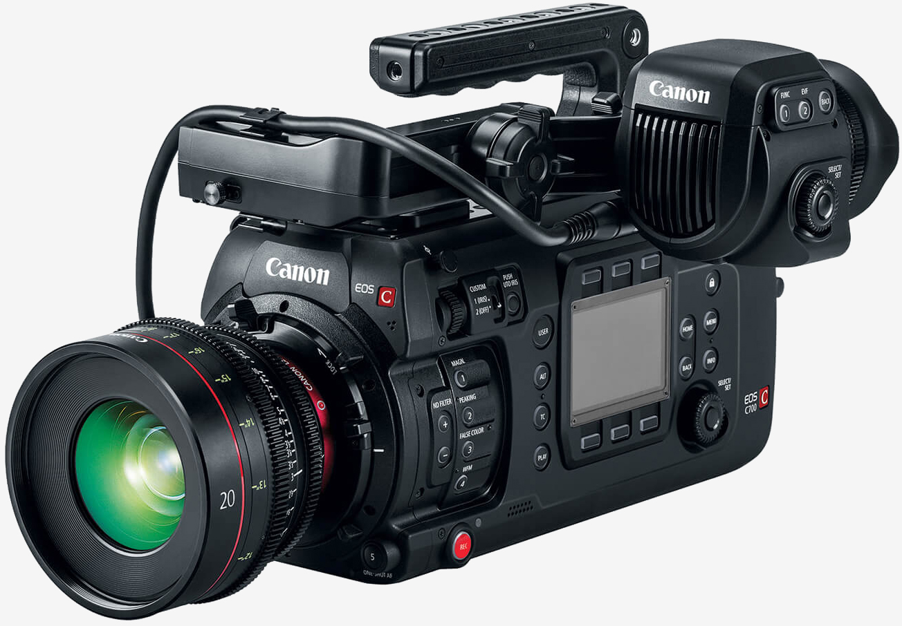 Canon goes head-to-head with RED, unveils its first full