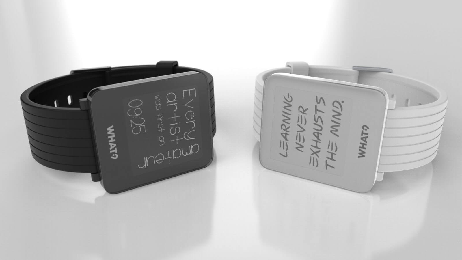This smartwatch is perfect for lovers of inspirational quotes
