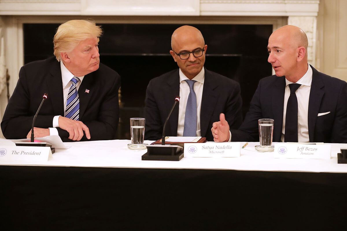 Amazon value drops $53 billion following report that Trump is obsessed with the company