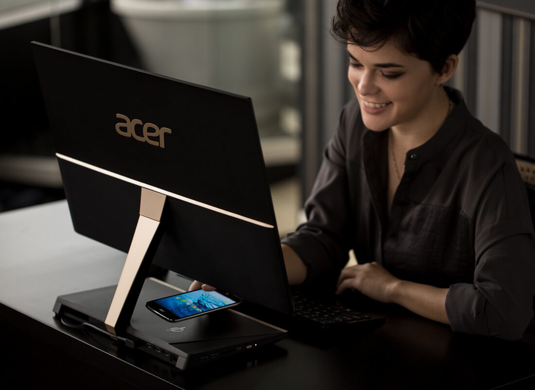 Acer announces ultra-thin $899 'Aspire S24' AIO desktop PC with wireless charging