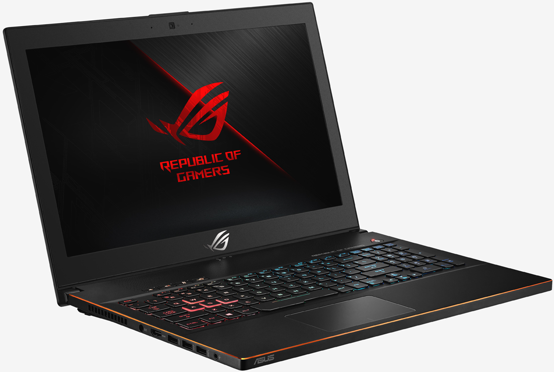 Asus intros Zephyrus M gaming laptop with a six-core i7