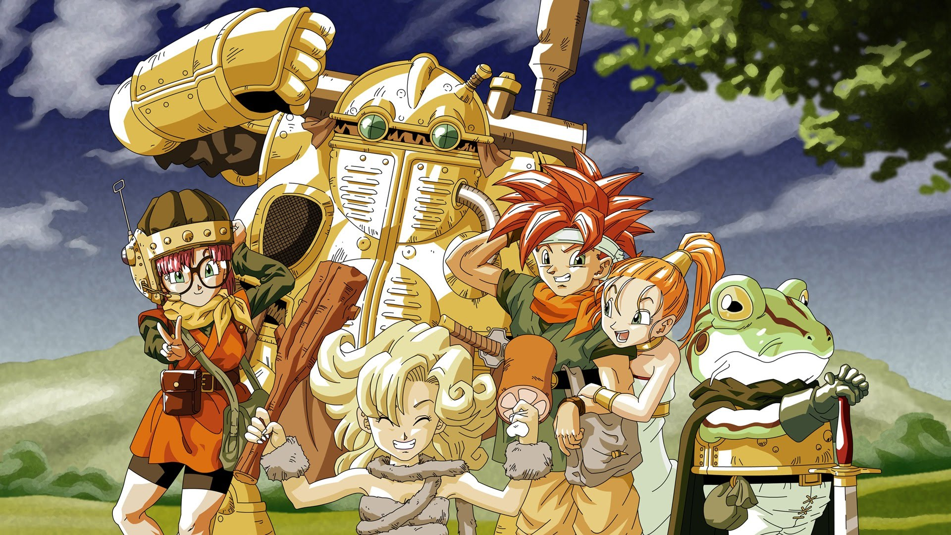 Chrono Trigger on PC will be getting a 'retro graphics' option