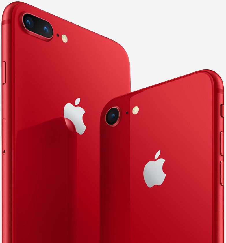 Apple announces (Product) RED special edition iPhone 8 and iPhone 8 Plus