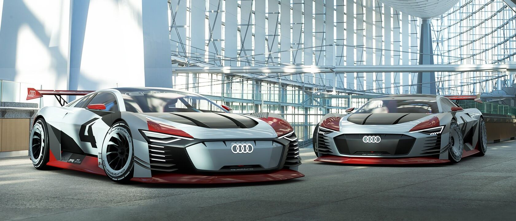 Audi S E Tron Gran Turismo Concept Car Is A Reality Techspot