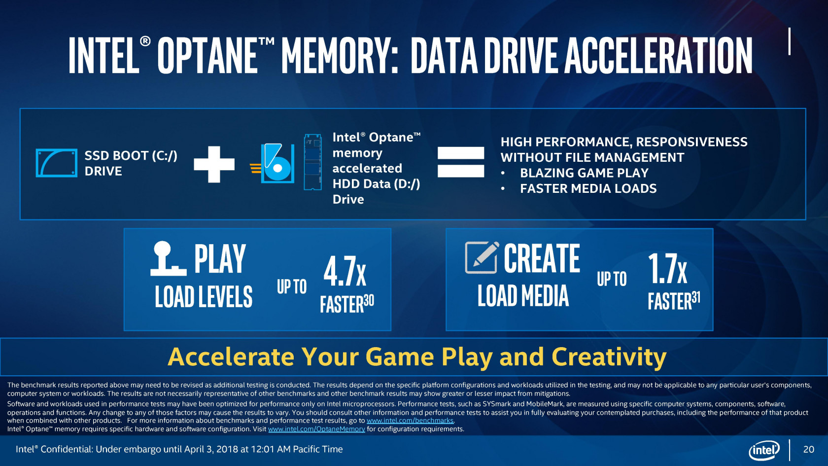 Intel rolling out Core i+ CPU bundles with Optane Memory for