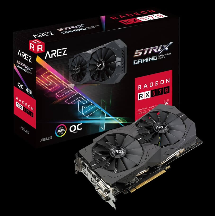 Asus rebrands 'Republic of Gamers' Radeon graphics cards to AREZ