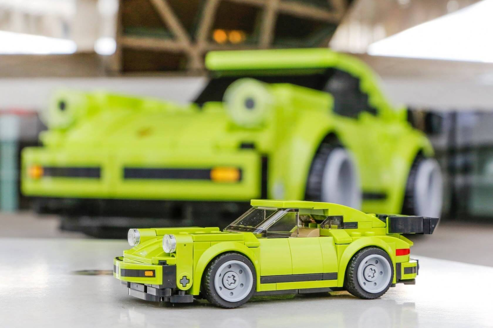 Porsche Museum Shows Off Life Size 911 Turbo Made From Giant Lego