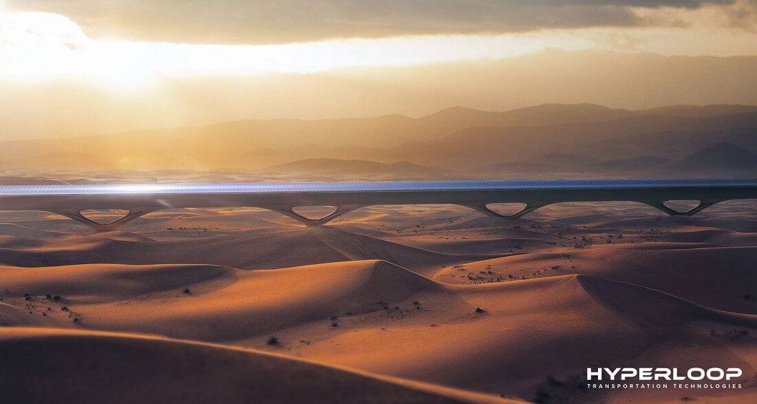 Hyperloop TT plans to develop the world's first commercial Hyperloop system in Abu Dhabi
