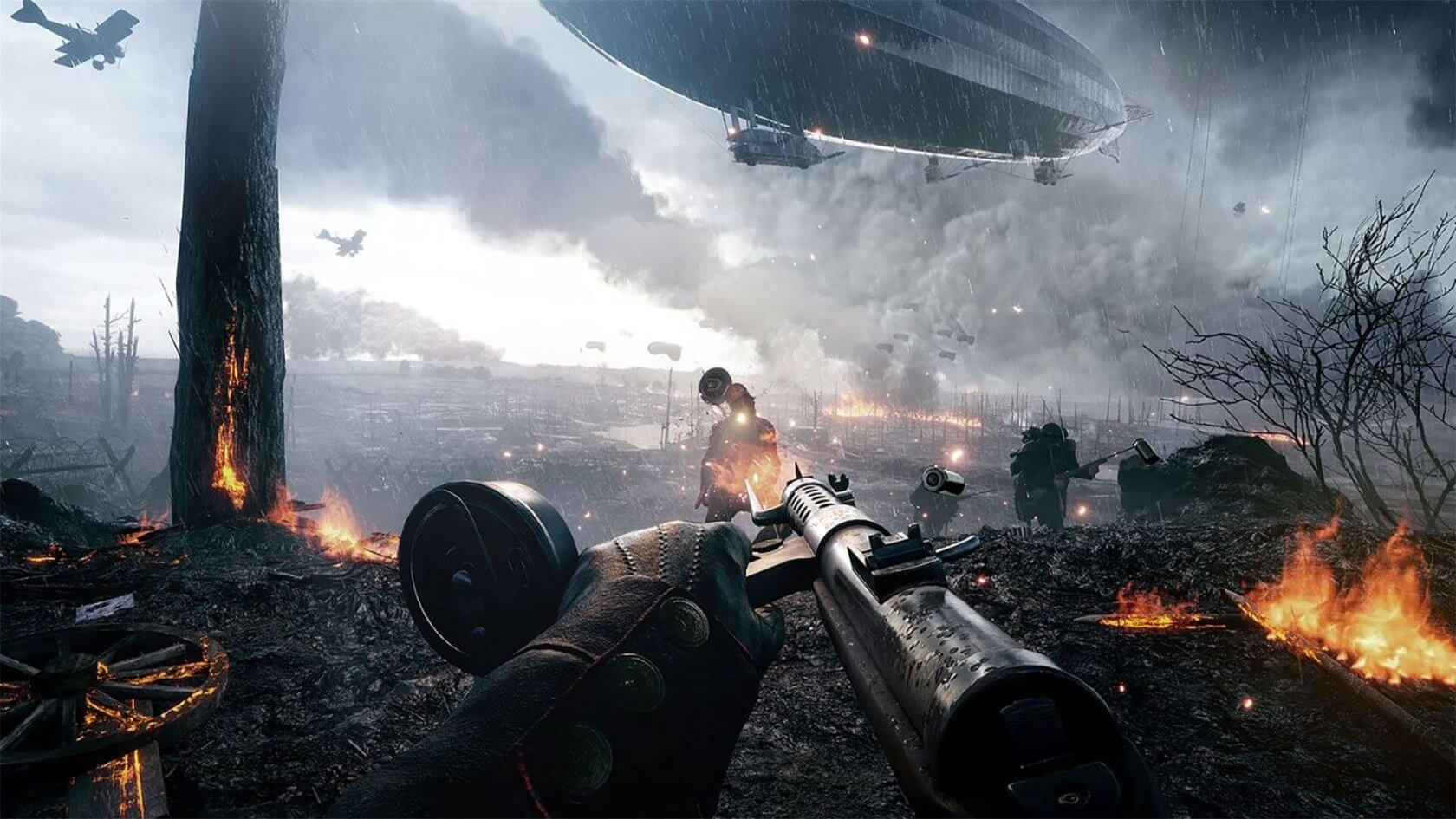Battlefield V team loves that Call of Duty may ditch its campaign