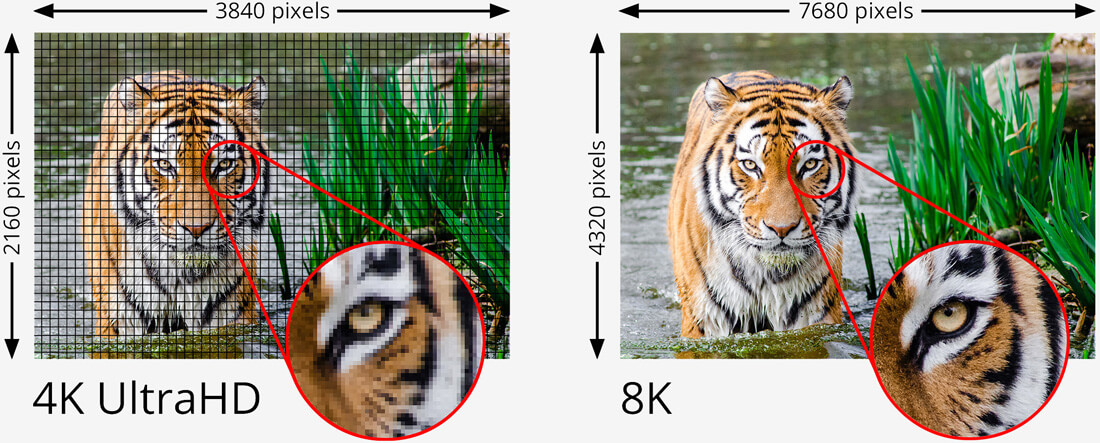 HDMI 2.1 spec supports a range of high resolutions and fast refresh rates