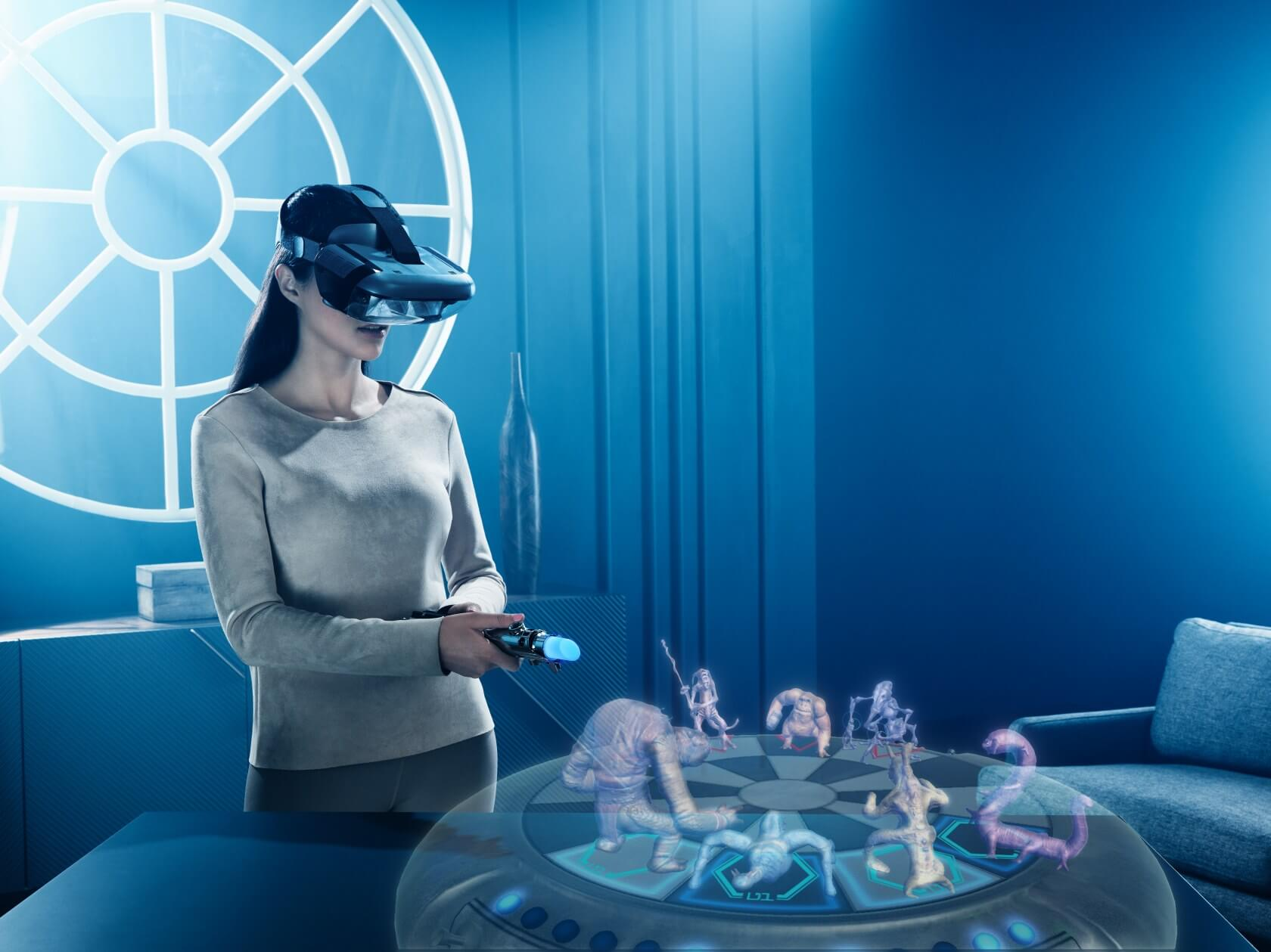 Jedi Challenges app allows users to play holochess without a headset