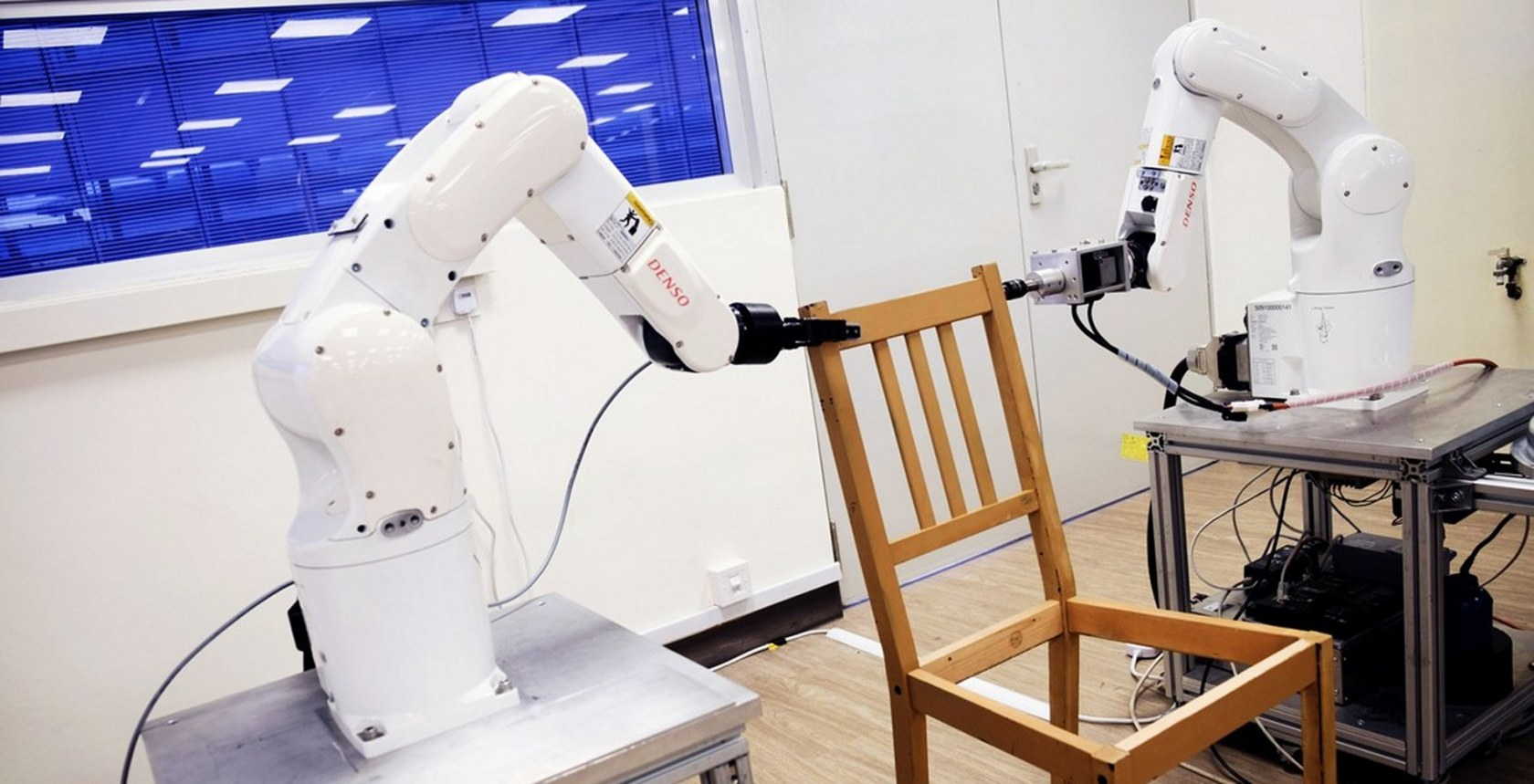 Robot assembles Ikea furniture without losing its temper or any pieces
