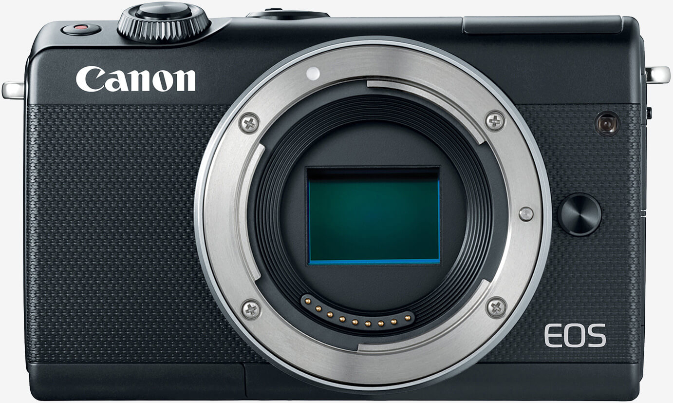 Canon's latest mirrorless camera is the compact EOS M100