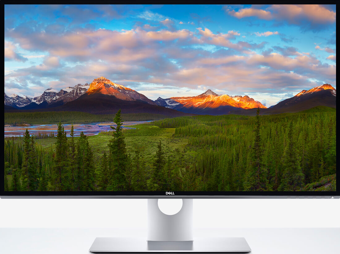 Dell's 32-inch, UltraSharp 8K monitor is incredible but like most things in Vegas, it's excessive