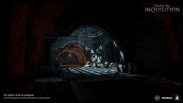 Bioware releases new Dragon Age: Inquisition screenshots, Holiday build for employees