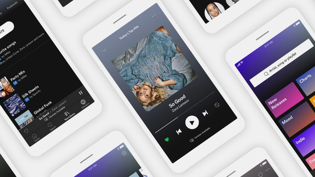 Spotify rolls out on-demand listening functionality to free users