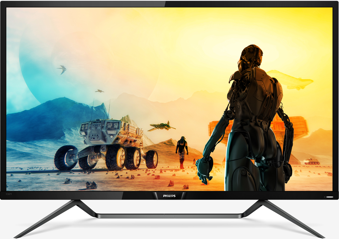 Philips' 43-inch Momentum monitor is the first to carry DisplayHDR 1000 certification