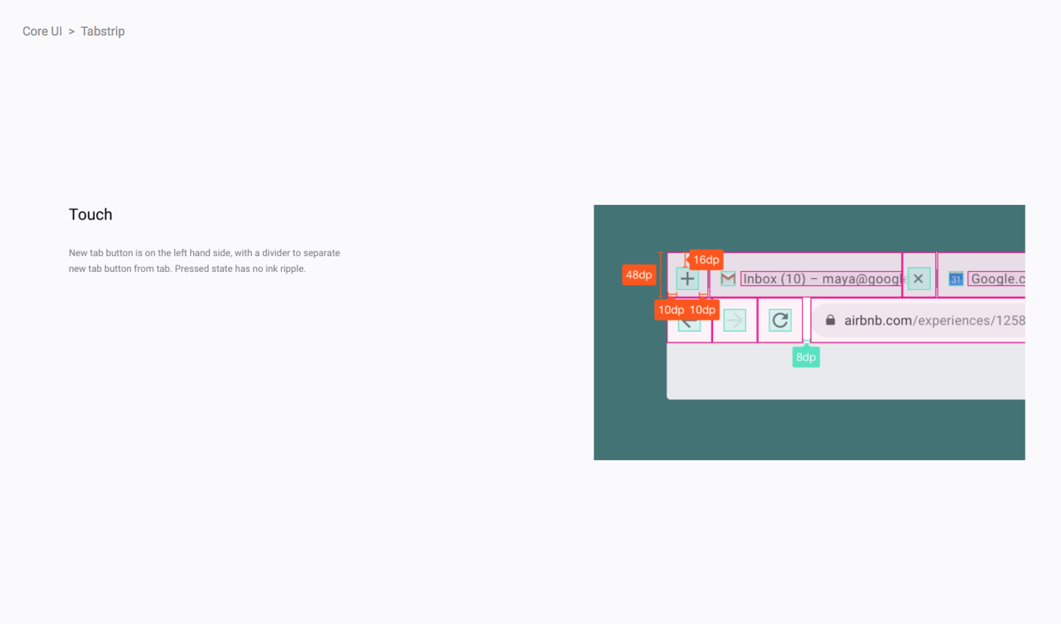 Google is testing a refreshed Material Design UI in Chrome