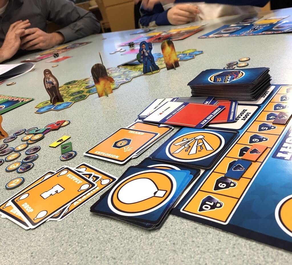 A battle royale board game is on its way