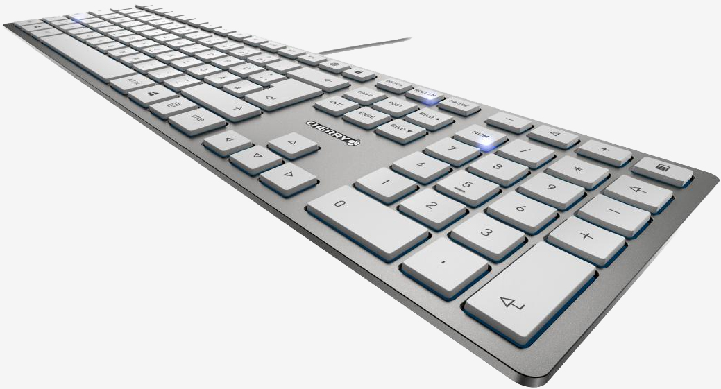 Cherry's latest is a laptop keyboard for desktop users