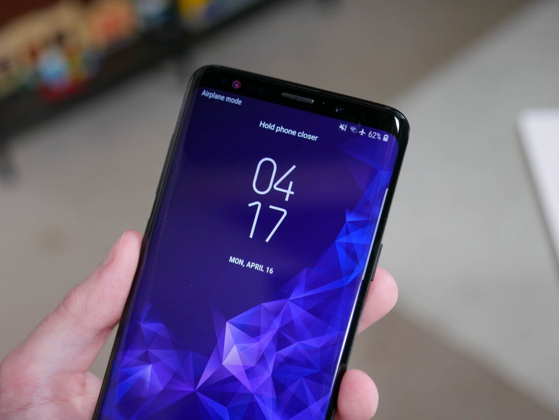 Samsung plans to launch 128GB and 256GB versions of the S9 and S9+