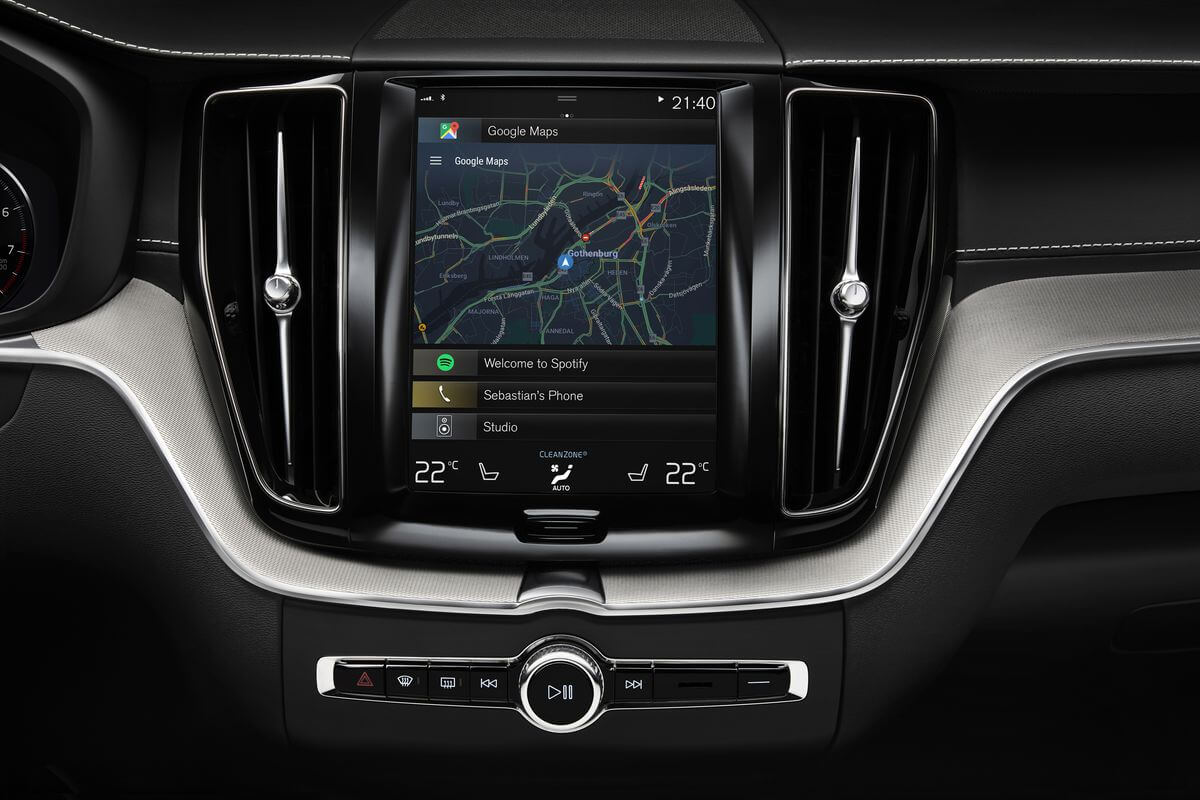 Volvo's infotainment system to get native Google Maps and Assistant
